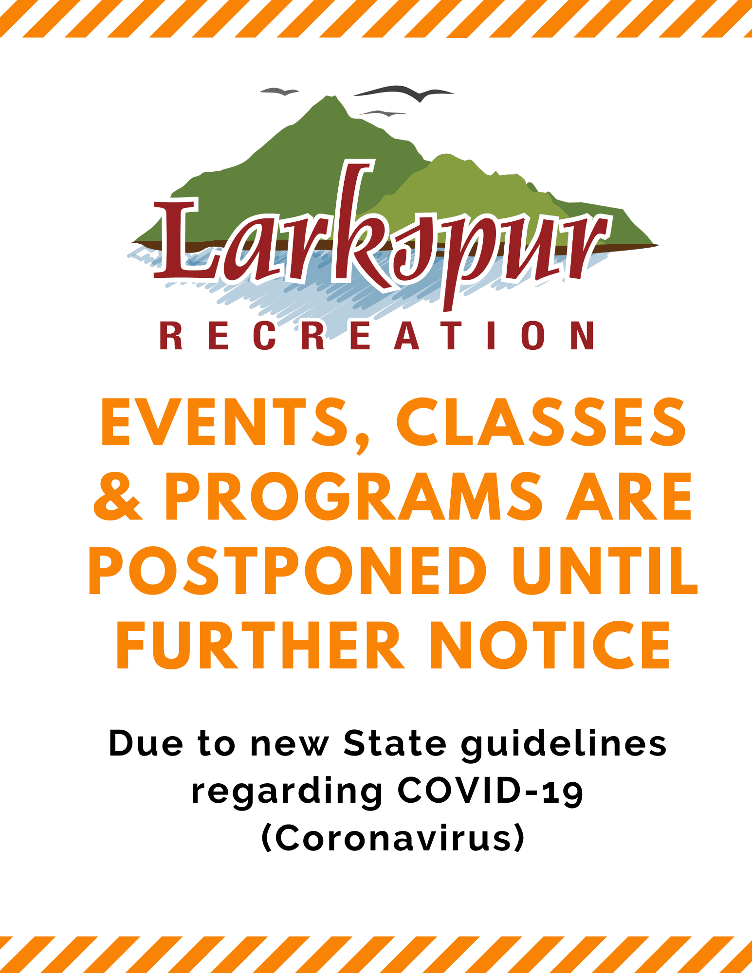 Recreation Postponed