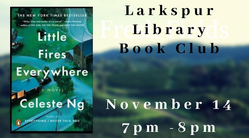Larkspur Library Book Club