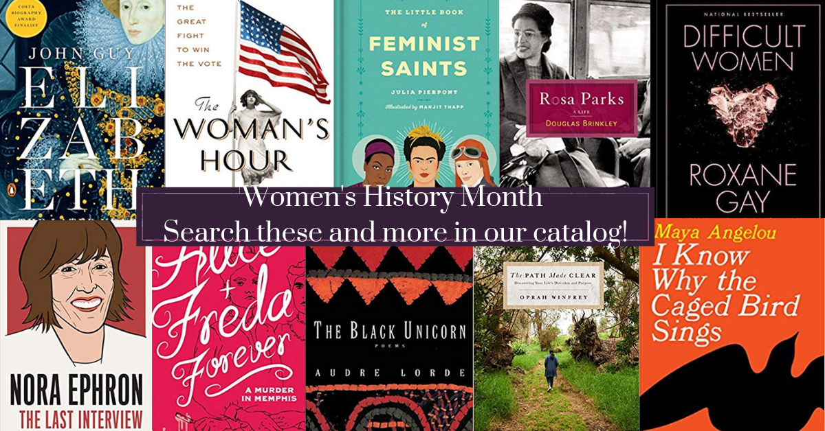 Womens History Month Catalog