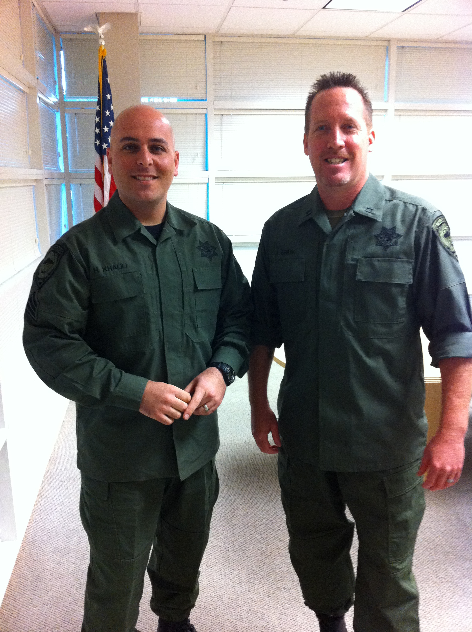 Crisis Response Team's Sergeant and Captain