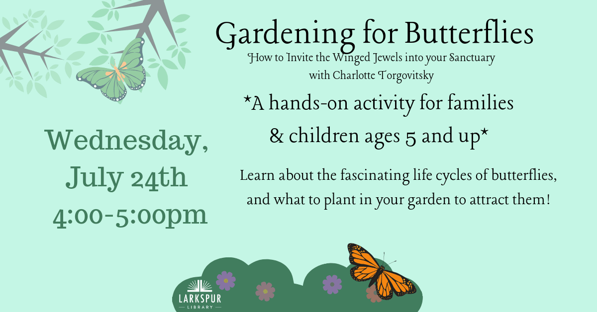 Gardening for Butterflies Calendar