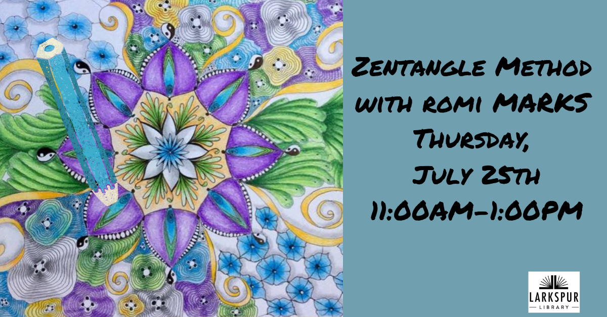Zentangle July Calendar