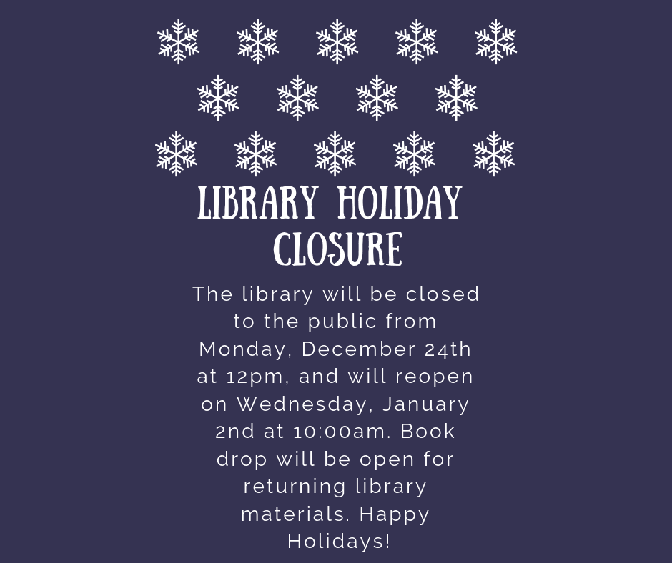 Copy of Holiday Closure