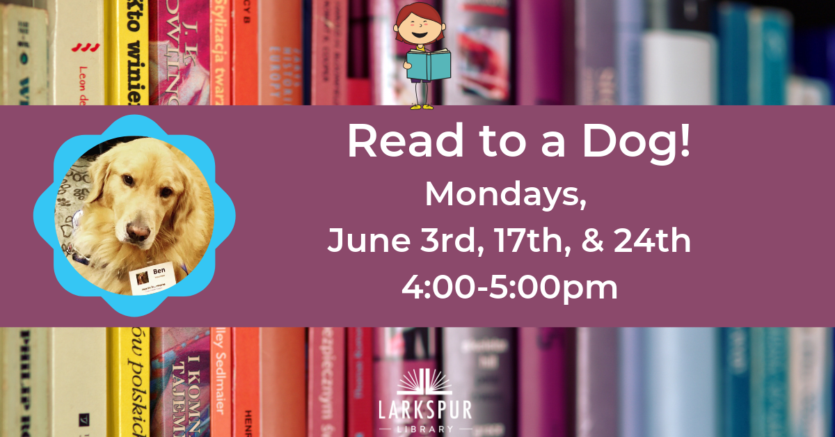 Read to a Dog June Calendar